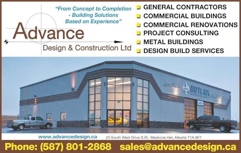 Advanced Building Consultants : Advance design construction ltd opening hours