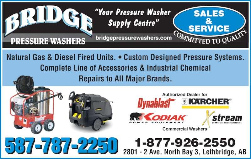Bridge Pressure Washers Opening Hours 3 2801 2 Ave N