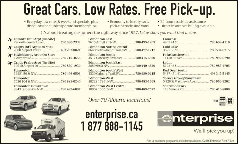 Enterprise Rent A Car Mississauga Airport