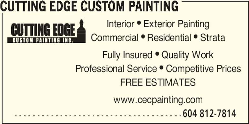 cutting edge custom painting opening hours 33 10391 no. Black Bedroom Furniture Sets. Home Design Ideas