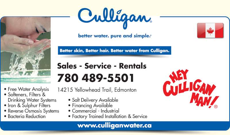 Ads Culligan Water