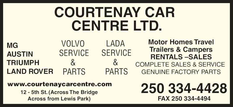 Courtenay Car Centre Reviews