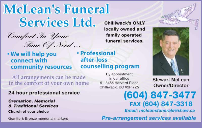 Funeral Homes In Chilliwack Bc