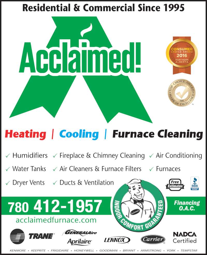 Acclaimed Heating Cooling Amp Furnace Cleaning Opening