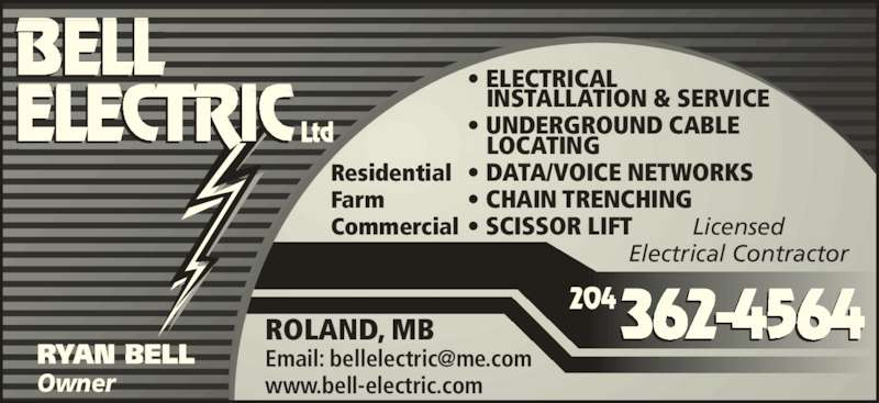 Bell Electric Opening Hours