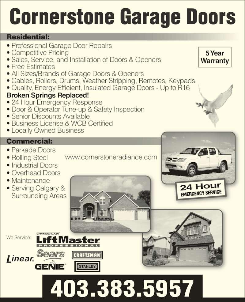 Industrial Garage Door Dimensions: Cornerstone Garage Doors