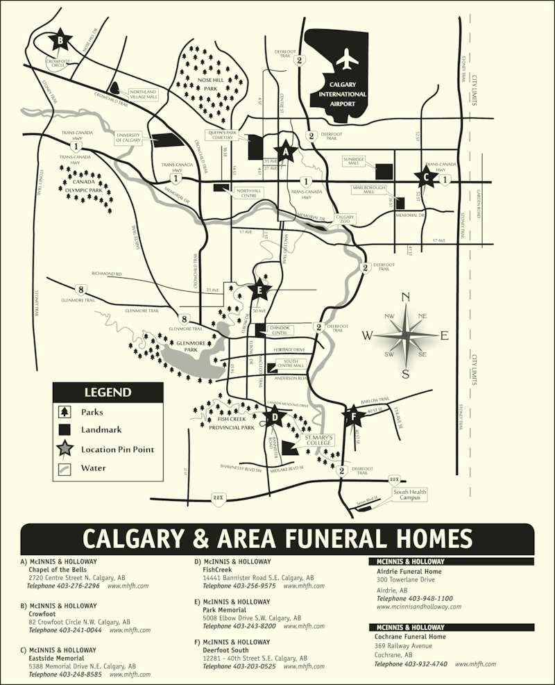 Mcinnis Holloway Funeral Homes Calgary
