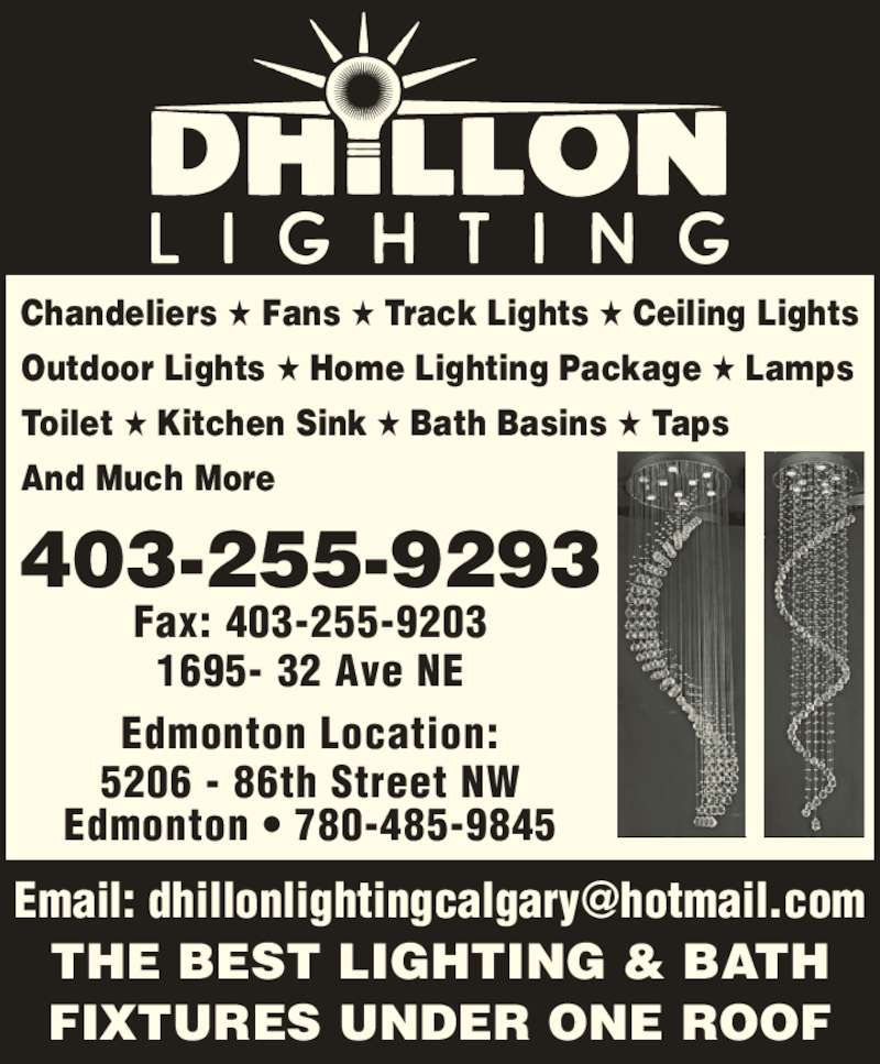 Led Track Lighting Edmonton: 1695 32 Ave NE, Calgary, AB