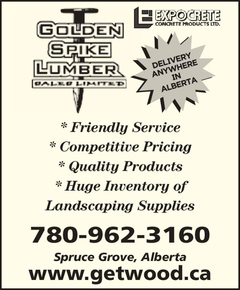 Golden Spike Lumber Sales Ltd Spruce Grove Ab 4