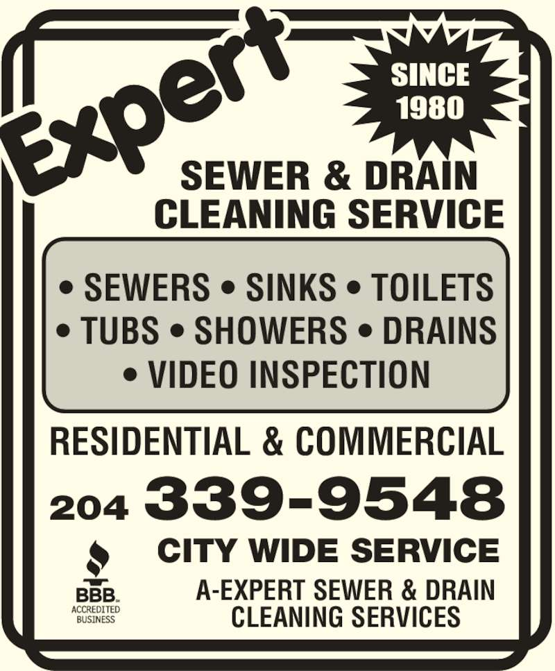 Expert Sewer Amp Drain Cleaning Services Winnipeg Mb 55
