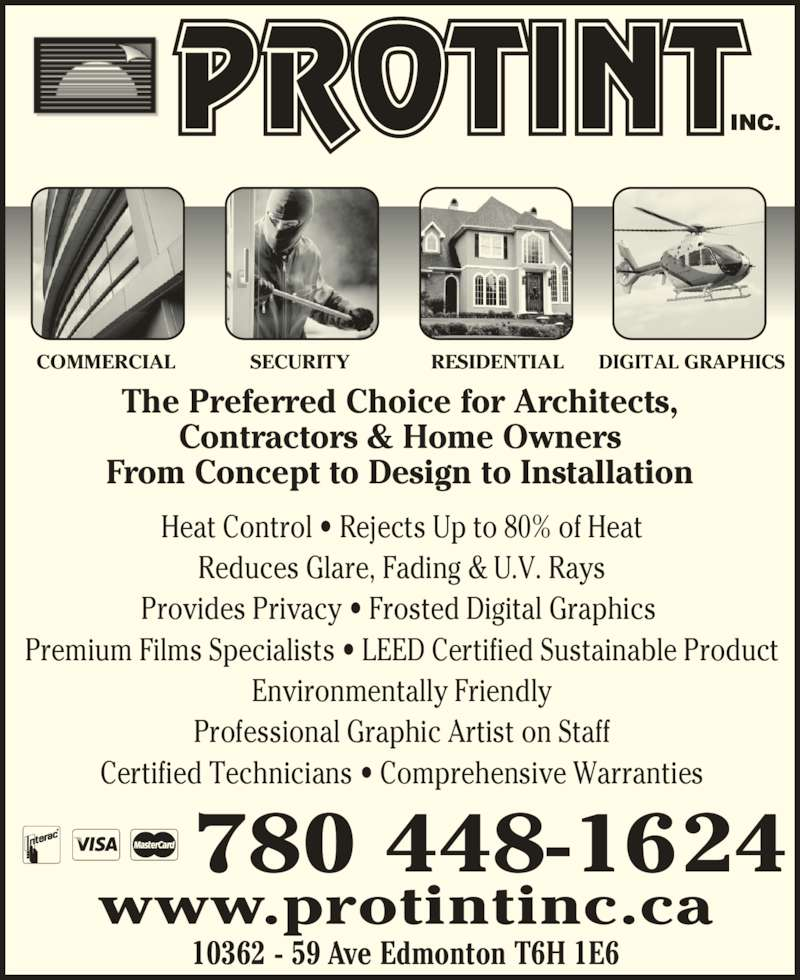 Protint Inc Opening Hours 10362 59 Avenue Nw Edmonton Ab