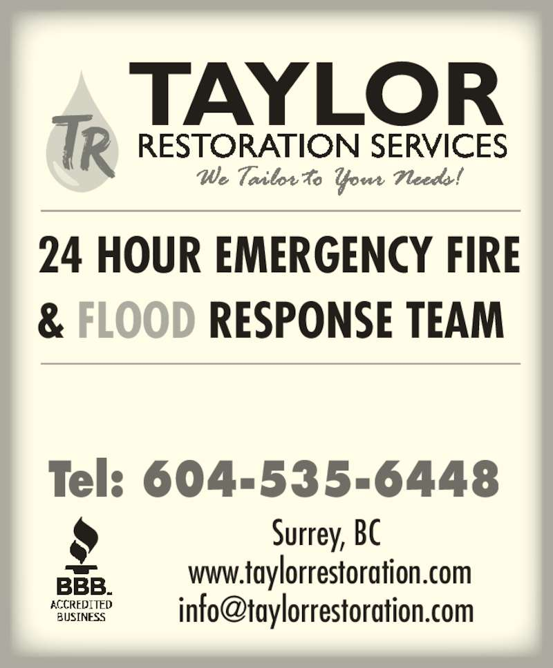 Taylor restoration services surrey bc 117 5678 199 for 24 hour tanning salon near me