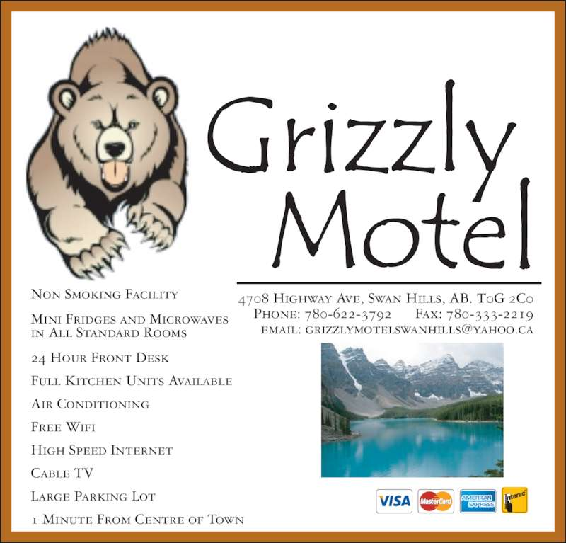 Fox Creek (AB) Canada  city photo : Hotel 780 622 3792 Display Ad 4708 Highway Ave, Swan Hills, AB ...