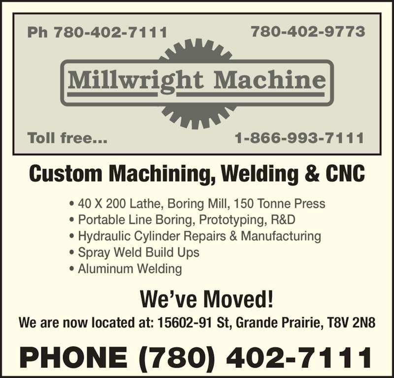 millwright machine