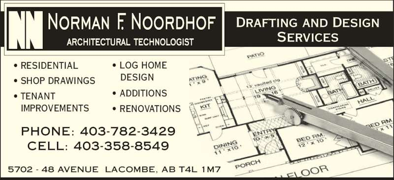 Noordhof norman f architectural for Ads architectural design services