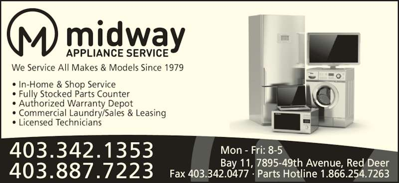 Ads Midway Appliance Service Ltd