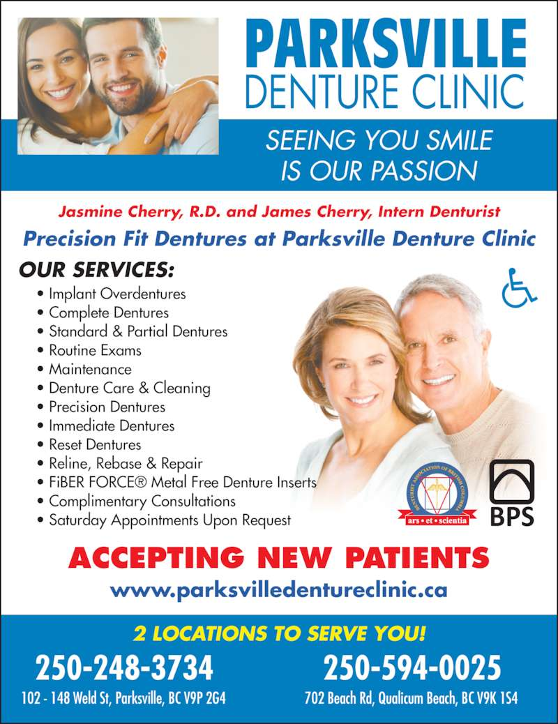 how to get dentures in bc canada