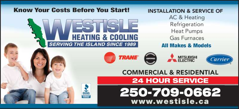 Westisle mechanical services ltd duncan bc 3 2939 for 24 hour tanning salon near me