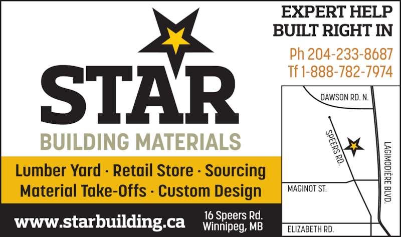 Star Building Supplies Winnipeg