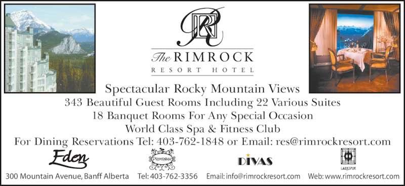 Rimrock Spa Packages