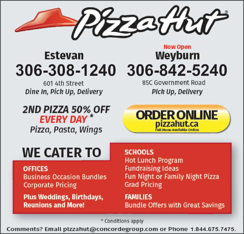 Pizza Hut Headquarters Information