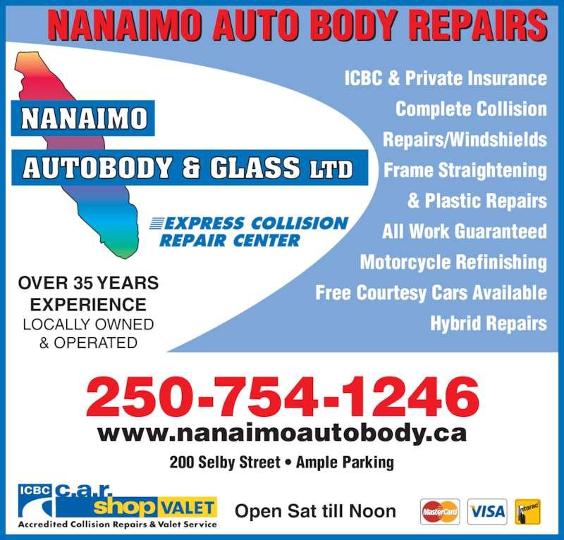 Auto Glass Repair Victoria Bc