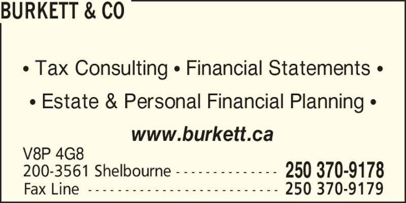 Tax consultant business plan