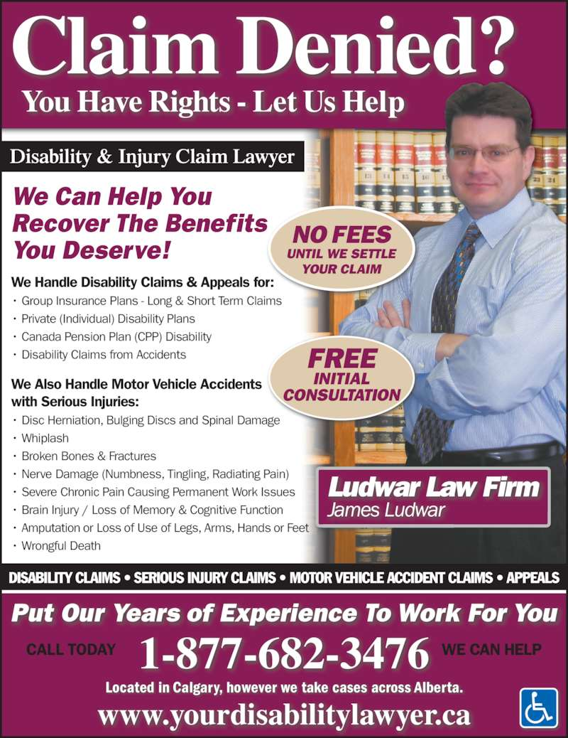 Ludwar law firm opening hours 101 429 14 street nw - Short term disability plan design ...