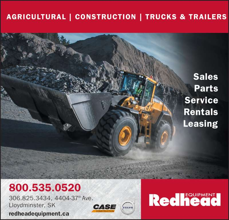 from Reese redhead equipment saskatoon sk