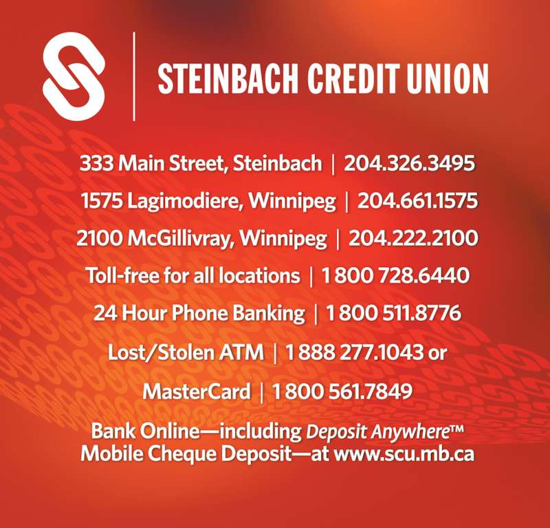 Steinbach Credit Union (204-661-1575) - Display Ad -