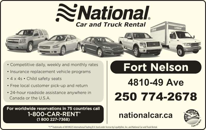 National Car Rental Fort Nelson
