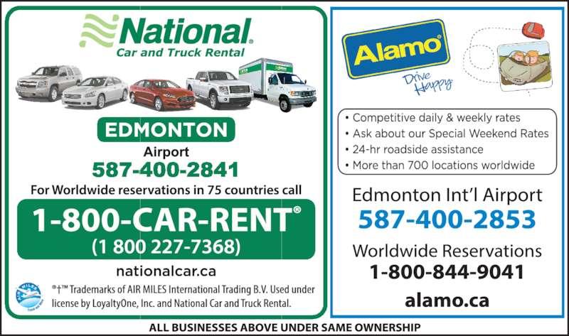 National Car Rental Red Deer