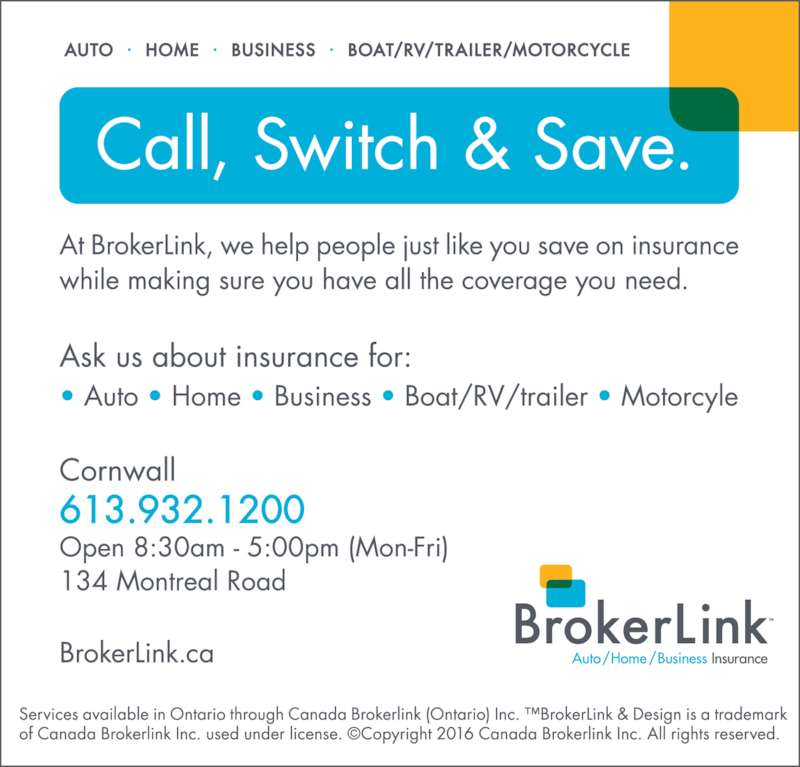 BrokerLink (613-932-1200) - Display Ad -