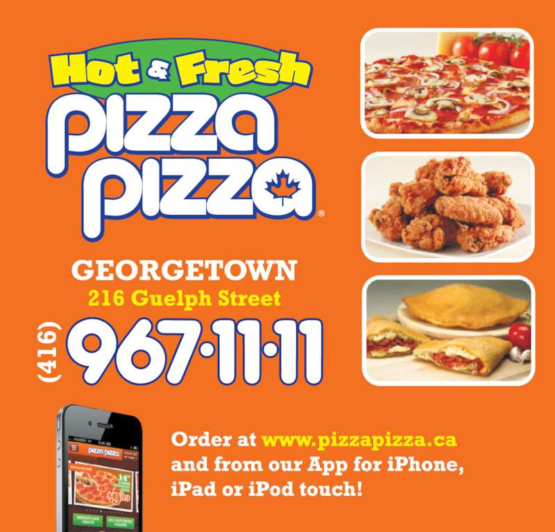 Pizza Pizza (416-967-1111) - Display Ad -