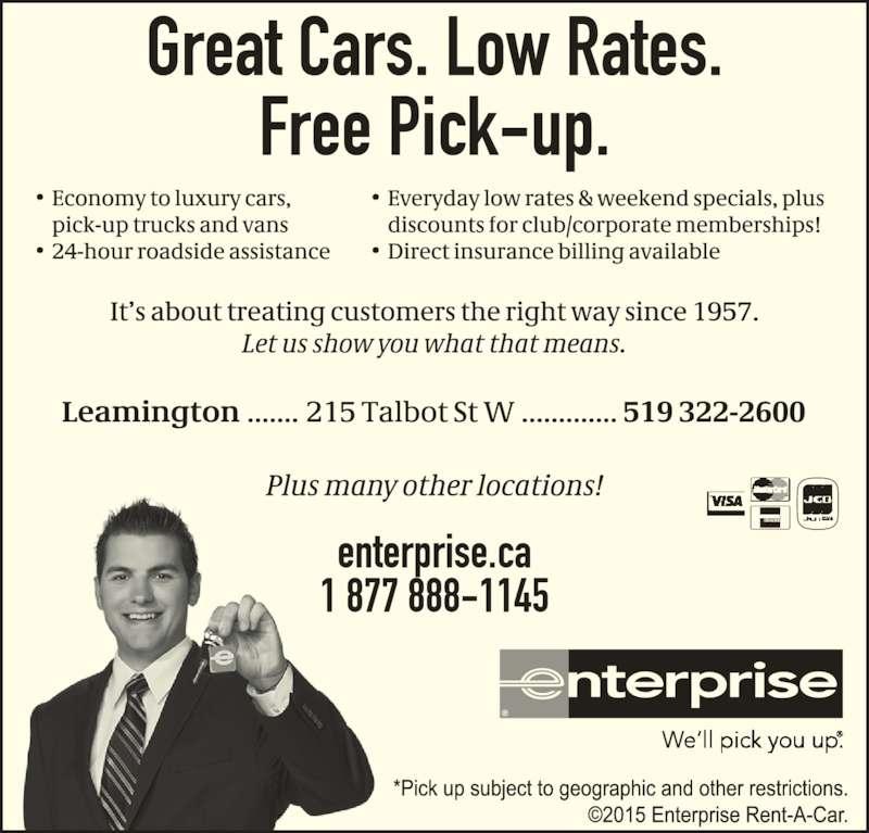 Enterprise Rent A Car Mississauga Dixie