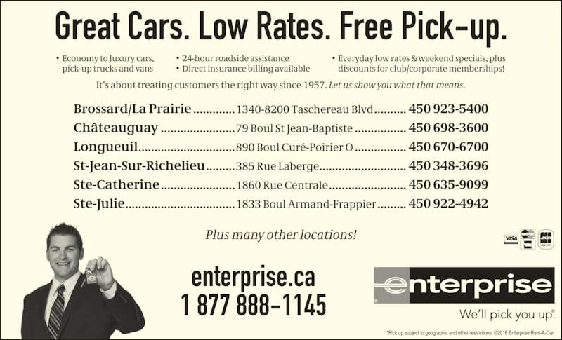Enterprise Rent A Car Canpages