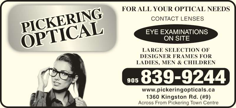Pickering Optical Services Opening Hours 9 1360