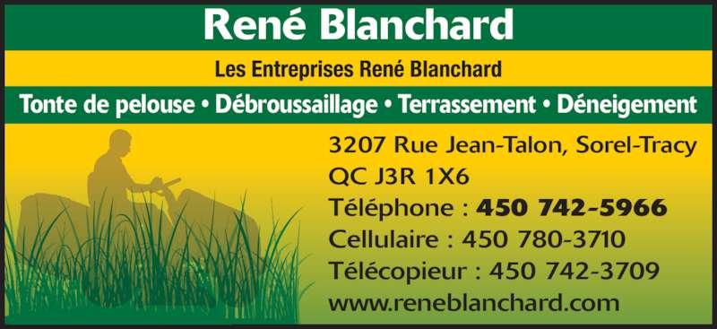 Ads Les Entreprises René Blanchard