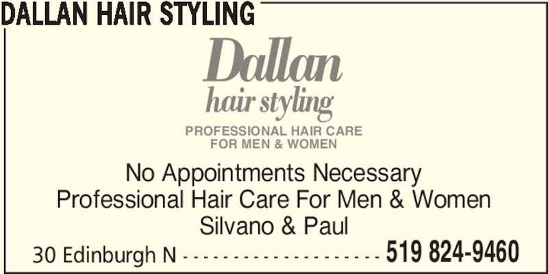 Dallan Hair Styling - Guelph, ON - 30 Edinburgh Rd N