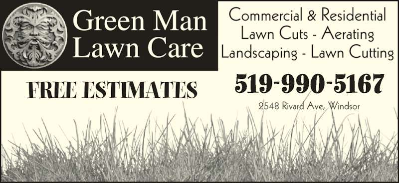 Green Man Lawn Care 2101 Lesperance Rd Windsor On