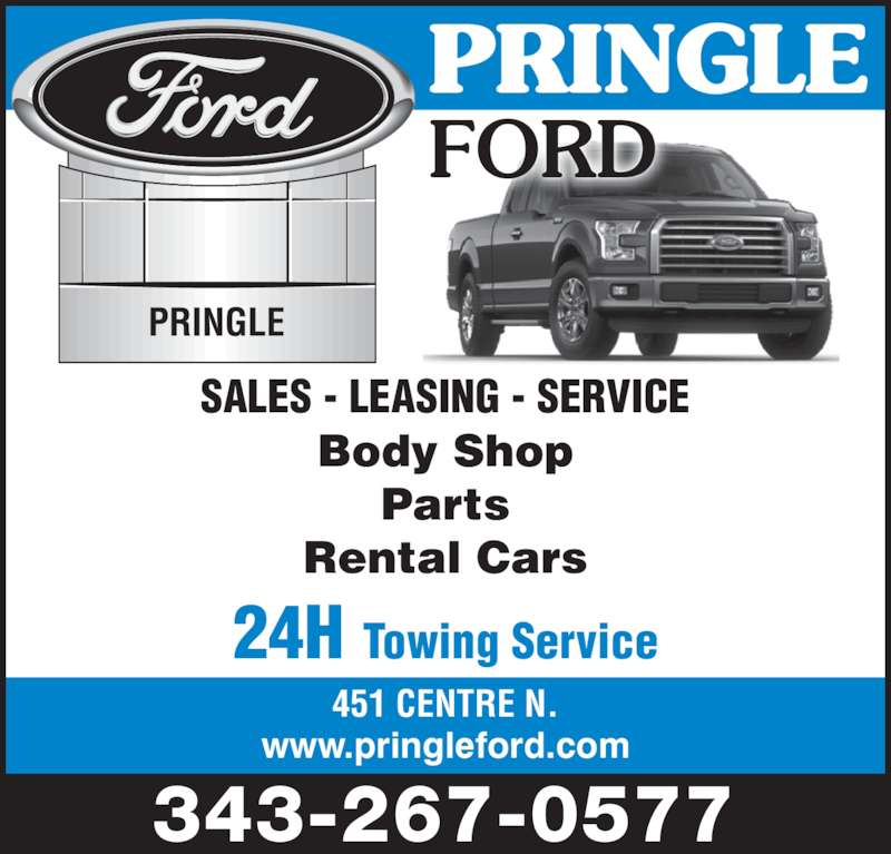 Ford Leasing: 451 Centre St N, Napanee, ON