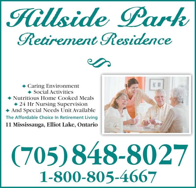 Hillside Retirement Home Elliot Lake