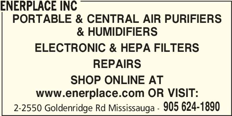 Enerplace Inc Mississauga On 2 2550 Goldenridge Rd