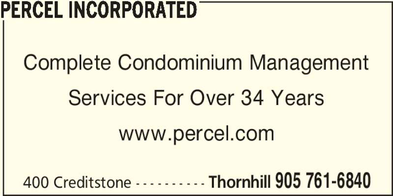 Property Management Percel Property Management