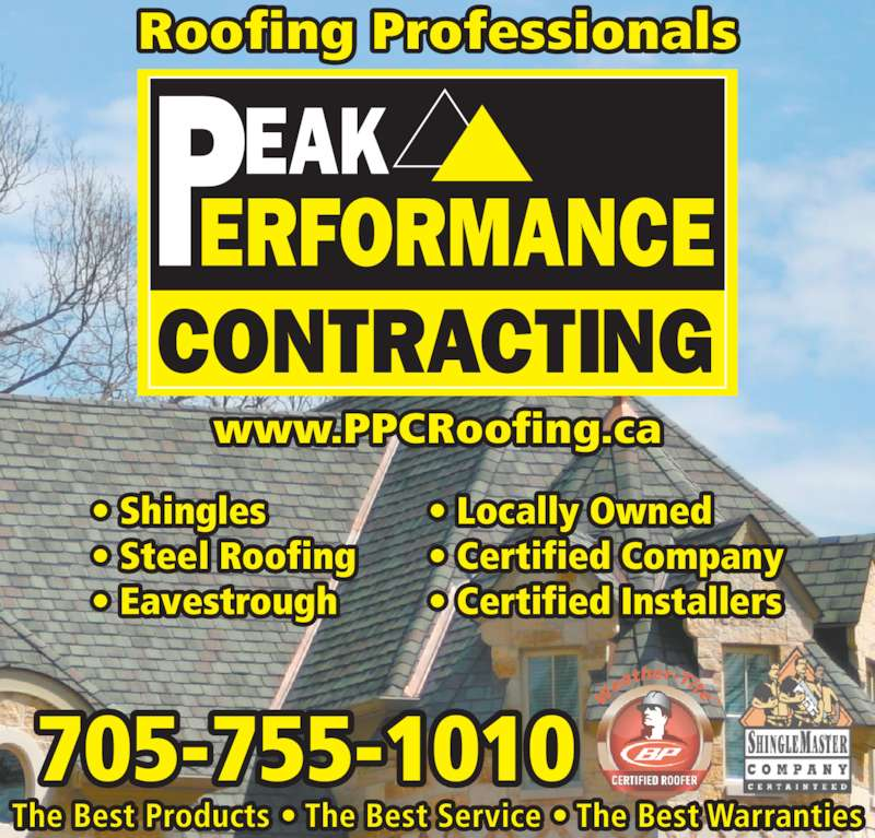 Peak Performance Contracting 742 Milford Dr
