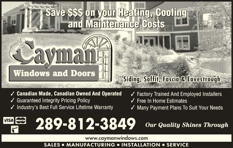 Cayman Windows And Doors Opening Hours 76 Middleton St