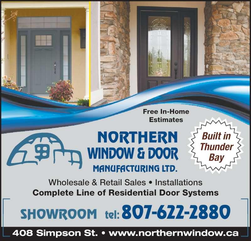 Northern Window Amp Door Mfg Ltd Opening Hours 408