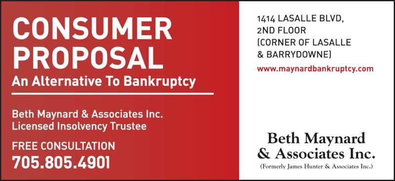 Beth Maynard & Associates Inc (705-524-3034) - Display Ad -