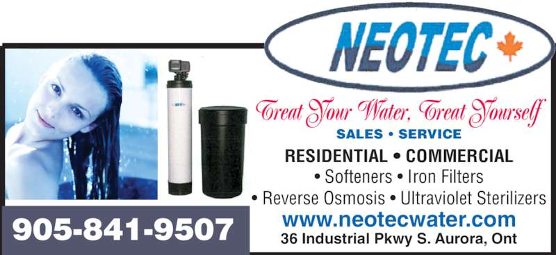 Neotec Water Treatment Opening Hours 36 Industrial Pky