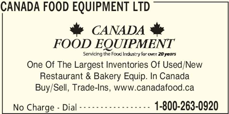 Serve Canada Food Equipment Ltd